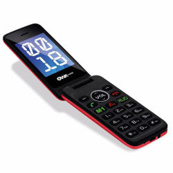 OEM de 2,4 pulgadas chino Dual SIM dual Standby Flip Teléfono móvil 3G.