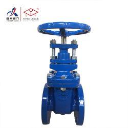 La norma DIN 3352 F4 METAL asentado el aumento de la válvula de compuerta vástago