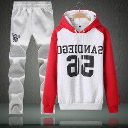 Personalizar el logotipo del fabricante de deporte de alta calidad de algodón de desgaste Hoodie vía palo