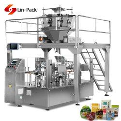 Automatische Nahrung- für HaustiereSonnenblumensamen-Chip-Dattel-Beutel-Verpackungsmaschine