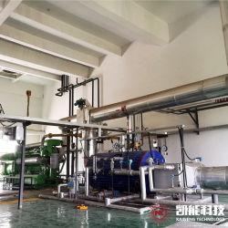 1 トン / 2 トン / 4 トン / 6 トン自然循環 ガス / ディーゼル発電機用の経済装置付き水平廃棄物熱蒸気ボイラー 設定