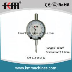 Индикатор с круговой шкалой точности механически метрический