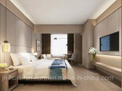 El chino moderno y elegante hotel de madera Muebles de Dormitorio juegos (GN-HBF-70)