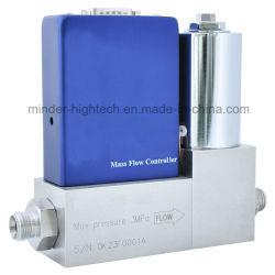 Capilar de alta precisión del sistema de control de flujo de gas analógico Controlador de dispositivo medidor de flujo de masa
