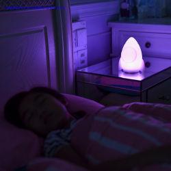 Kunststoff Produkt LED Tischleuchte RGB Bunte LED Nachtlicht Mit weicher Silikon-Lampenform für Baby-Spielzeug