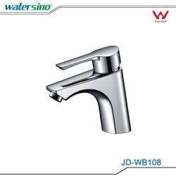 Filigrane Wels a approuvé le Laiton chromé robinet du bassin de la salle de bains