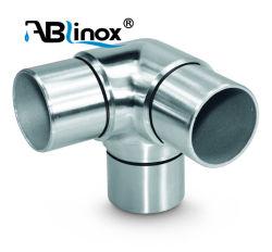Rails en acier inoxydable en acier inoxydable de coude au ras de l'angle en acier inoxydable mixte de l'angle