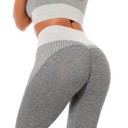 Nahtlose Frauen-Strumpfhose-Gamaschen-Yoga-Hosen