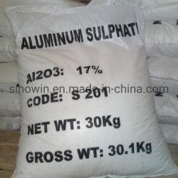 Anylitical chimique en aluminium de qualité 17 % de sulfate de liquide de prix