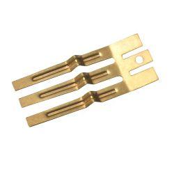 ISO900-2015カスタム真鍮のニッケルの版ばねの金属AA電池の接触
