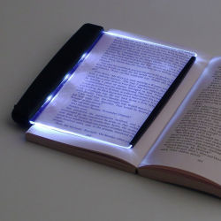 Lampada di lettura di illuminazione dello schermo piatto LED, indicatore luminoso di notte del LED