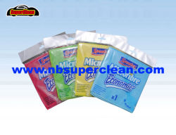 Ткань из микроволокна для вязания Weft чистящая салфетка для кухни и ванной комнатой (CN3601-16)