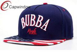 Amerikaanse Baseball Cap Snap Back Hat met borduursel en drukkerijen Vlag