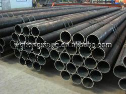 Q235 Q345の黒い鋼管または継ぎ目が無い鋼鉄管