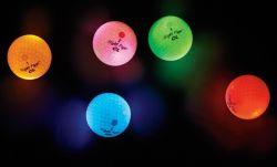 Golfbälle populäres Nachtflugblatt-Mischfarbedongguan-LED