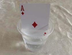Cartões personalizados à prova de alta qualidade jogando baralho