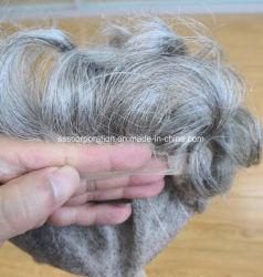 最も自然な顧客用最もよい品質の人の人間の毛髪のToupees