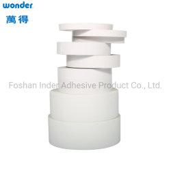 Fita de tecido a cores de dupla face auto-adesiva à base de água BOPP/OPP
