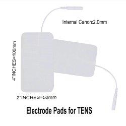 Electrodo adhesivo decenas almohadillas de silicona para decenas de equipos médicos
