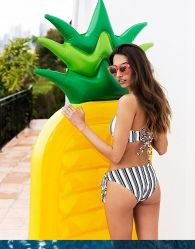 Aufblasbare Swimmingpool-Gleitbetriebs-Ananas-Matratze