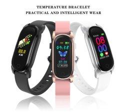 지능적인 시계 남자 Bluetooth 외침 면제 감시 심박수 혈압 IP67는 스포츠 지능적인 시계를 방수 처리한다