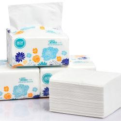 Zachte Gezichtstissues Voor Hotel Mini Cube Box Face Paper