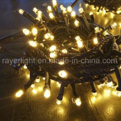 LED 크리스마스 훈장 세륨을%s 가진 옥외 점화 커튼 끈 빛
