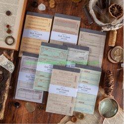 Manual básico de la decoración de papel Scrapbook notas