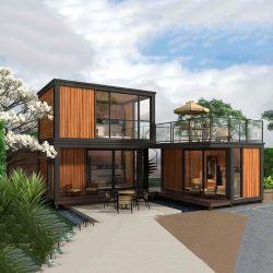Vorfabriziert/fabrizierte vor,/kleines Haus,/Behälter,/Flachgehäuse modulares bewegliches und einfaches Installations-Haus mit Luxuxdekoration für Verkauf