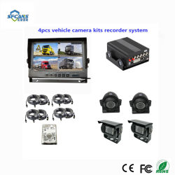 4CH de Veiligheid HDD Mobiele DVR van het Voertuig van kabeltelevisie met g-Sensor, 3G en GPS voor het Beheer van de Vloot van de Taxi