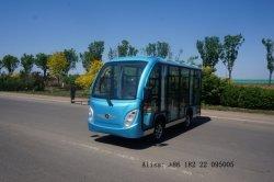 14 pasajeros utilidad cerradas Mini Eléctrico Servicio de autobús de turismo