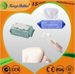 Libre de alcohol barato OEM de bambú Biodegradable Nonwoven Productos de cuidado del bebé Artículos del Hogar se enfrentan a la mano de licitación de limpieza suave tejido toallitas húmedas desechables toalla ODM.