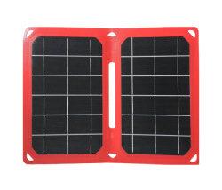 ETFE 12W Thin Film plegable Cargador Panel Solar