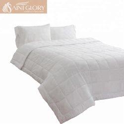 100% coton Taille personnalisée édredon blanc ordinaire