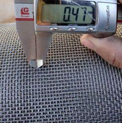 10*10 Scherm van het Venster van de Draad van netwerk * 0.45mm het Diameter Gegalvaniseerde voor Klamboe