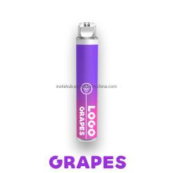 2021 Melhor vendia isqueiros Vape Pen 1800baforadas de Cigarro Eletrônico 5.5Ml Atomizador Eliquid Factory fornecer OEM e ODM