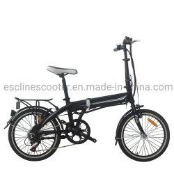 20'' de la batería del bastidor de aluminio plegable oculto Ebike Aprobado ce las ventas de China de fábrica