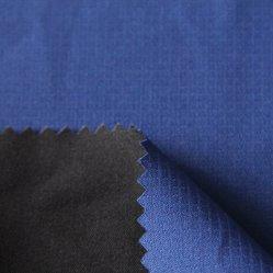 TPU imperméable planchers 5K et maille polyester 75D de tissu jacquard bleu pour les vestes/shell/Bas/Parka/uniforme