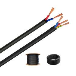 3 Core Cu/XLPE/Swa/PVC cable de control grúa Cobre flexible de baja tensión Cable conductor