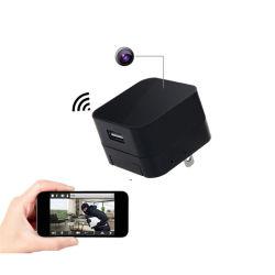 A8 настенное зарядное устройство USB адаптер камеры 1080P Mini WiFi IP-камера розетке сети переменного тока разъем камеры Cam (WC001A8)