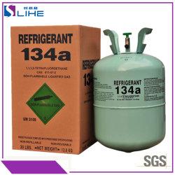Commerce de gros d'usine de 100 % de pureté Auto gaz réfrigérant de climatisation R134A