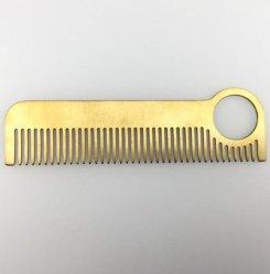 고품질 선전용 선물을%s 고아한 10cm 금속 머리 빗