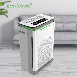 Backnature marcação ião negativo UV OEM humidificador HEPA Home Purificador do Ar