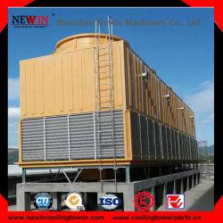 TegenStroom met geringe geluidssterkte/DwarsStroom/de Industriële KoelToren van het Type van Gebruik Vierkante/de Toren van het Water