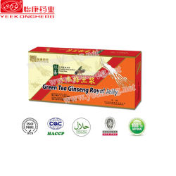 緑茶の健康の補足の朝鮮人参の高貴なゼリー
