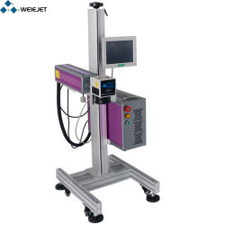 آلة تمييز ليزر من الألياف بقوة 30 واط لمنتج PVC PVC/الألومنيوم/المنتجات المعدنية/الجلد/الساعة/تلقائي الجزء/المعدن