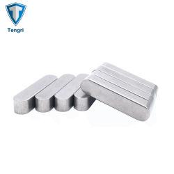 Fabricado en China de acero inoxidable 304 de 316 teclas sujetadores cuadradas y rectangulares/pines
