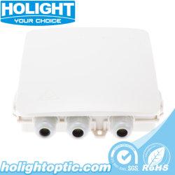 Caixa de plástico de fibra óptica FTTH Council para aplicações interiores e exteriores