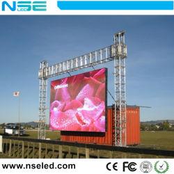 شاشة عرض فيديو LED فائقة النحافة طراز P4.81 LED للتأجير الخارجي