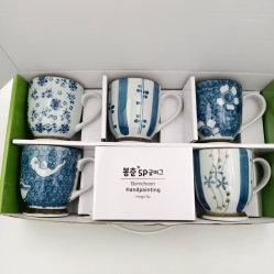 Mug porcelaine Hot-Selling/tasse à café/Gift Set/Hand-Painting/Underglazed